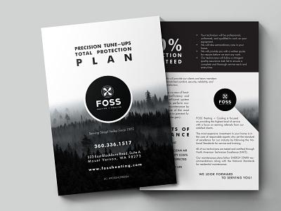 Brochure (half fold) print print design typography branding design