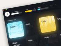 Ambient Sound Mixer - Elpy