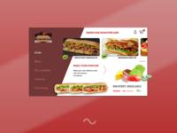 The Sub Shop (Website Concept)