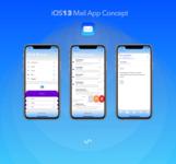 iOS13 Mail App Concept