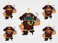 Game Character - Pirate