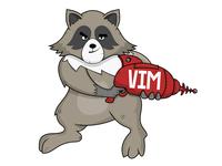 Raccoon and VIM