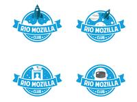 Rio Mozilla Club Badges