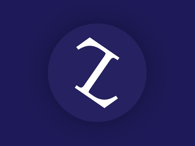 T + L Monogram design blue banner typography icon corporate branding logo symbol initials monogram