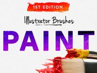 Illustrator Paint Brushes - 1st Edition