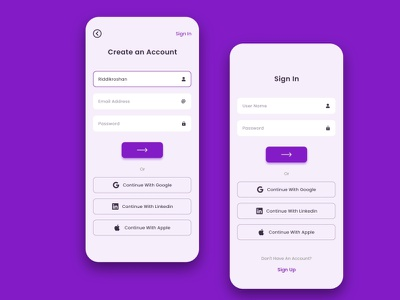Sign Up Page 100 days ui challenge sign up page ui