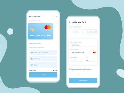 Credit Card Checkout daily ui challenge credit card checkout ui