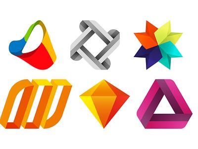 Logo Marks Exploration logodesign logo branding