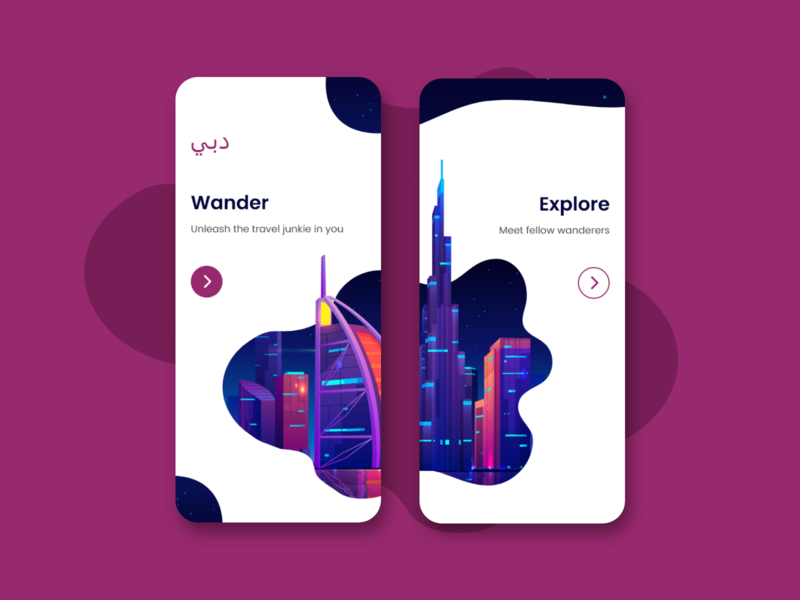 Travel Guide App | Onboarding UI onboarding screen onboarding guide travel ux ui illustration minimal design