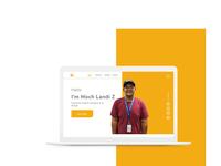 Personal Website Exploration V1