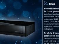 Media Player Website
