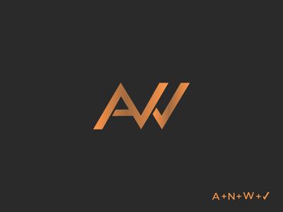 ANW letter logo design inspiration