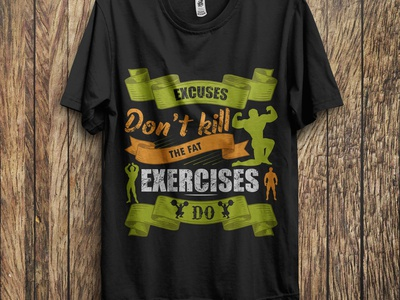 Gym T-shirt Design