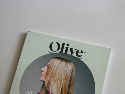 Olive magazine sneak peek! editorial layout sneak peek magazine olive