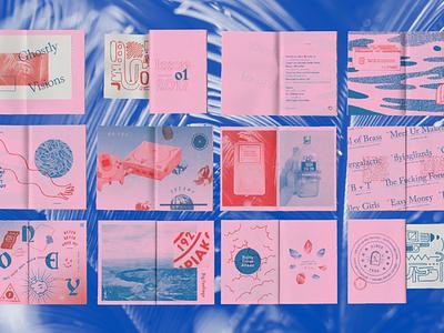 M O N E Y   II dallas visions ghostly self-published print zine sneak-peek send-help money