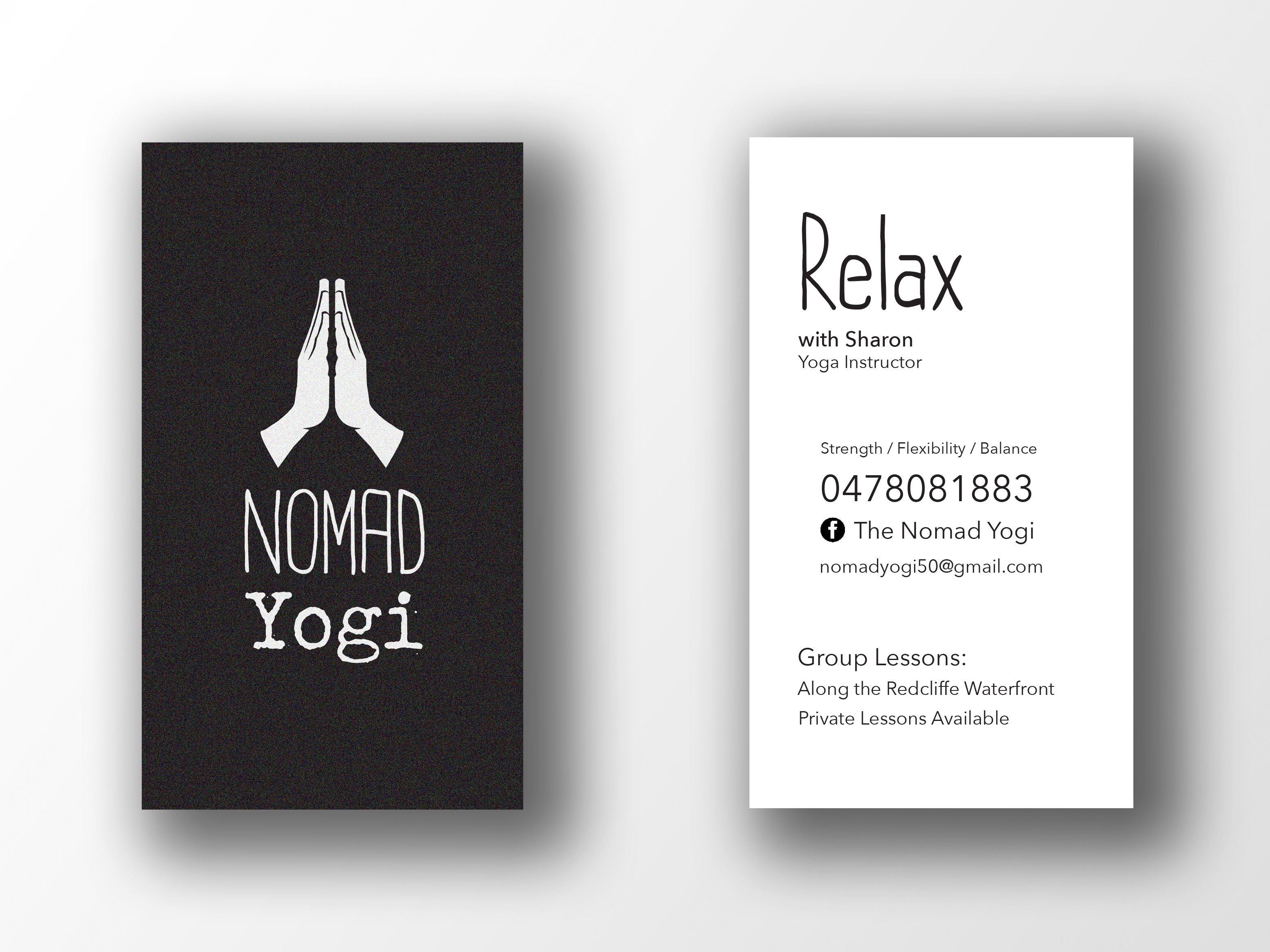 Buisness card mockup