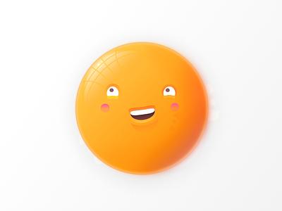 Egg face illustration smile sketch face egg