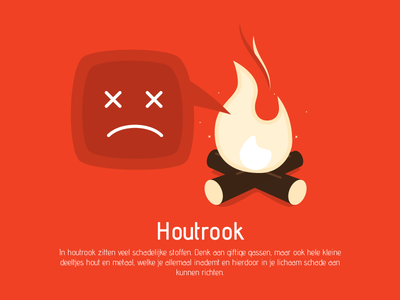 Houtrook (WIP) air pollution wood fire