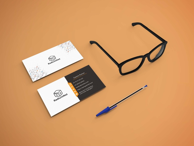 Business Card graphic design identity branding visiting card photoshop advertising design branding business card