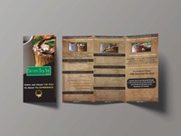 Trifold Brochure for a Restaurant