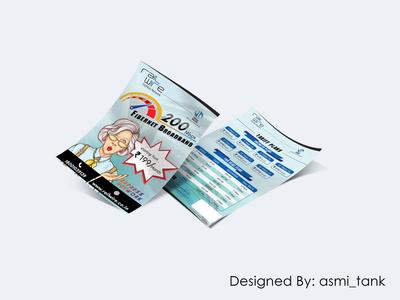 Pricing Plan Leaflet Design