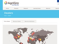 AgriGro Design Secondary Page
