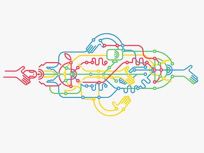 Google  icons font branding symbol web sopa action
