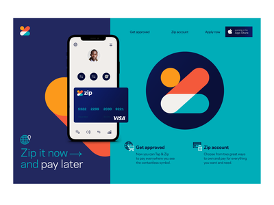 Zip creative lead design website app design ux  ui