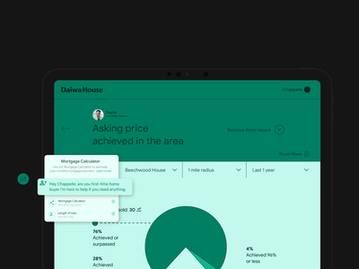 Daiwa House branding typography creative lead app design ux ux design mobile