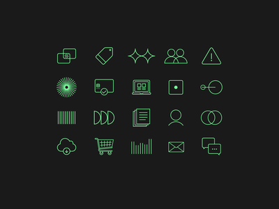 Icons product design financial products banking financial services ui ux design branding iconography fintech