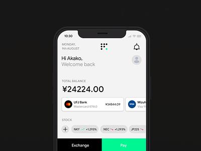 Finance App api banking mobile app creative lead design system paid system app branding product design uiux experience fintech platform app developer financial
