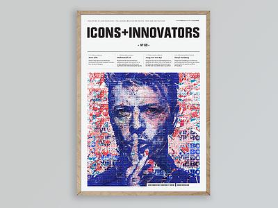 David Bowie popculture define politic legends portrait exhibition davidbowie