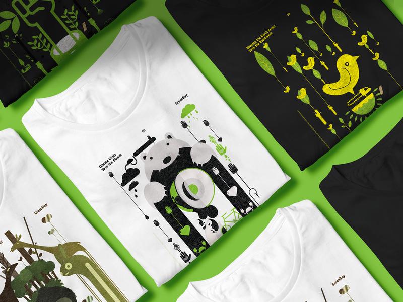Greenday 2037 ideas creators campaign t-shirt design pitch environmental movement