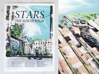Stars 2013 Fall Tour Poster
