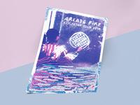 Arcade Fire VIP Reflekor poster