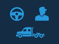 Trucker Icons