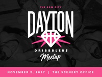 Dayton Dribble Meetup ohio designers dayton meetup pink team dribbble