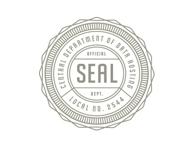 Seal seal union official gray