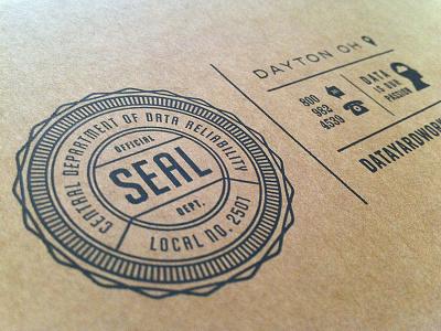 Seal Applied seal box corrugate