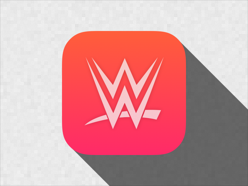 WWE Network iOS Icon by Manuel E  Larios on Dribbble