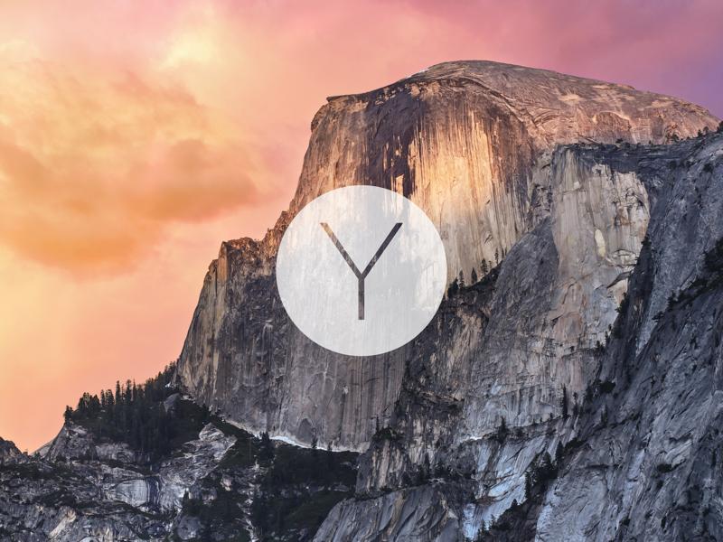 Os X Yosemite Wallpaper By Manuel E Larios On Dribbble