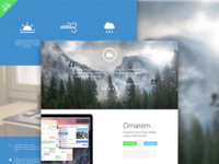 Web Design Template - Yosemite