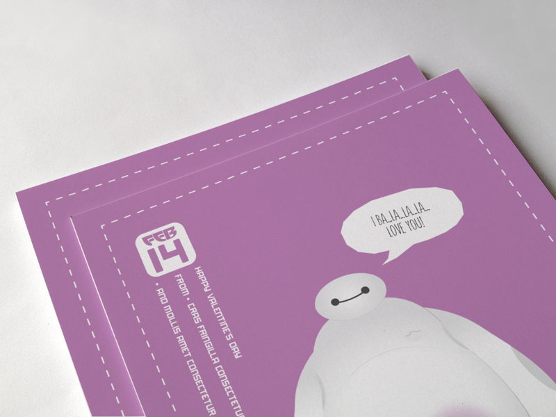 Baymax valentine s day card 01