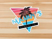 Manny Vice Sticker
