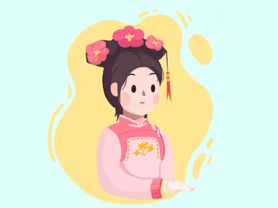"Illustration ""GeGe"" people girl woman character ipadpro illustration"