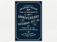 Draught House 46th Anniversary