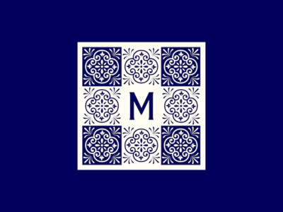 M Tile ceramic spanish tile m