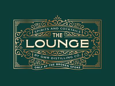 The Lounge bar ornate filigree