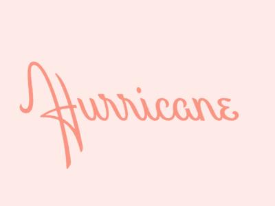 Hurricane script adobe live adobe left leaning hurricane script lettering
