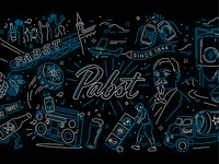 Pabst Digital Mural